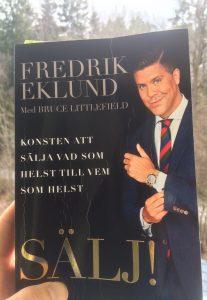 Fredrik Eklund boken Sälj
