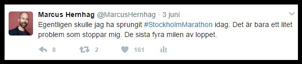 Min sanning om Stockholm Marathon.