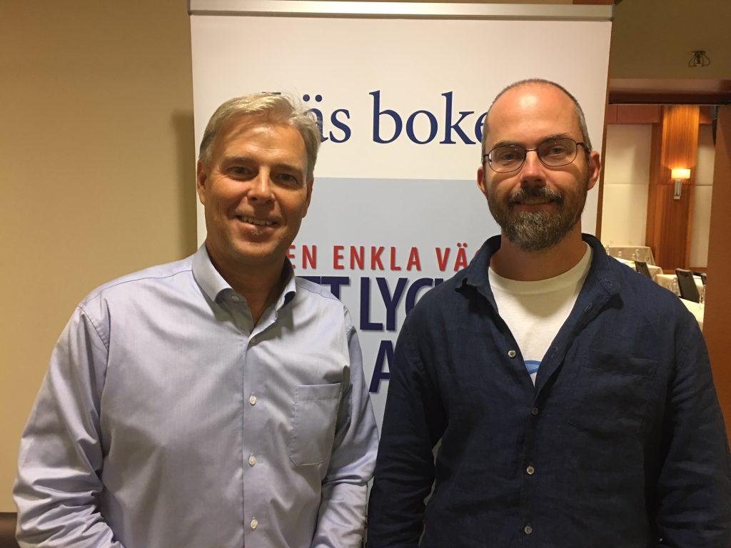 Arne Talving och Marcus Hernhag på Kavastu3.0.