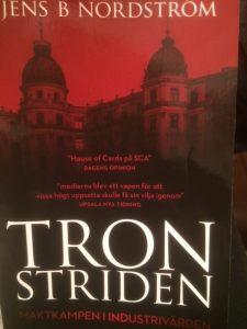 Bokrecension av Tronstriden av Jens B Nordström