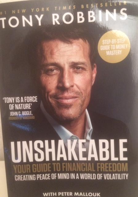Bokrecension av Unshakeable av Tony Robbins