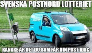 Svenska Postnordlotteriet