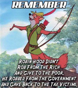 Mina skattesänkartips kan ge dig lägre skatt. Robin Hood tog för övrigt från kommun och stat och gav tillbaka skatten till företagarna.