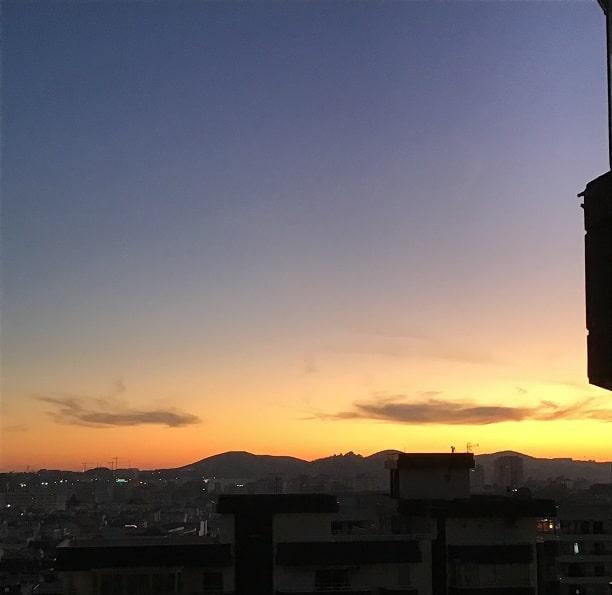 Utsikt över Mijas-bergen.