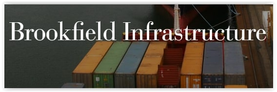 Stabila kassaflöden i Brookfield Infrastructure Partners